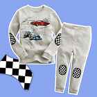 Cars Mcqueen 95 Boys cotton pjs pyjamas LONG SLEEVE sleepwear size 1-6 CAR new