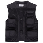 Men Outdoor mesh Breathable Vest camouflage Sleeveless Hunting Fishing waistcoat