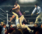 Classic American Boxing art print: Dempsey and Firpo by George Wesley Bellows