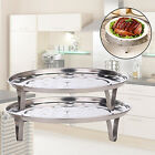 Stainless Steel Steamer Rack Insert Stock Pot Steaming Tray Stand Glitzy