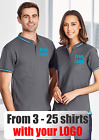 From 3 - 25 shirts Ladies Jet Polo with Your Embroidered LOGO (Biz P226LS)