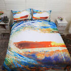 Sunset Quilt Duvet Doona Cover Set Single/Queen/King Size All Bed Nature Set New