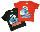 ThomasThe Tank Engine t-shirt Bleu et Rouge disponible 100% Coton 1-2 2-3 3-4