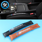 For BMW  NEW Car Seat Gap Spacer Fillers Plugs Pads Stoppers Leather 2 PCS
