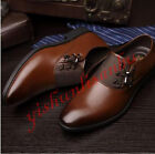 New fashion Men's patent leather Oxford formal Dress/Casual Shoes black brown SZ
