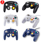 2x NEW CONTROLLERS FOR NINTENDO GAMECUBE or Wii---BLUE / WHITE / BLACK