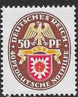 German Reich stamps 1929 MI 434I PlateERROR signed  MLH  VF