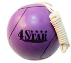 LAST PUNCH Official Size 7 Reinforced Rubber Tether Ball w/ 11ft Regulation Rope