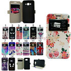 New WALLET Leather Stand Flip Wake Up View Case Cover for Samsung Galaxy Phone