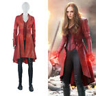 DFYM Captain America Scarlet Witch Cosplay Costume Leather Outfit