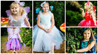 Deluxe Jewel Fairy fancy dress up Girls Costume Set Diamond Frozen Wings Wand BN