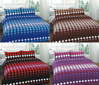 Hudson 4 Pcs Printed Floral Duvet Cover + Valance Sheet Complete Bedding Set