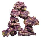 CARIBSEA (40 LB) - Life Rock - AQUARIUM DECOR Purple Coralline Algae * No Pest