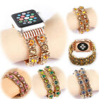 Fashion Chic Bead jewelled Bracelet Watch Band For Apple Watch Series 1/2 38 42