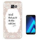 259 Christian Quote Let All Case Gel Cover For ipod iphone LG HTC Samsung S8