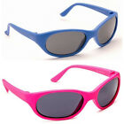 Kids Childrens Boys Girls Tots Toddler Pink Blue Sports Ski Dark Sunglasses New