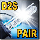 2x D2S Xenon HID Headlight Replacement bulbs for 2011 2012 Infiniti G25 @