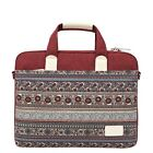 Ethnic Style Canvas Laptop Sleeve Notebook Cover Protector Computer Pouch Bag