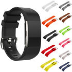Soft Silicone Fitness Wrist Watch Bands Replacement Strap for Fitbit Charge 2