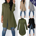 Kyпить Women Long Sleeve Chiffon Shirt Dress Ladies Loose Blouse Relaxed Tops Size 8-20 на еВаy.соm