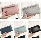 2017 Women's Leather Clutch Wallet Long Card Holder Case Purse Handbag Zipper