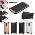 For ZTE Zmax Pro Z981 Phone Leather Rubber Protective Silicone Hard Case Cover