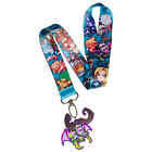 AUTHENTIC World of Warcraft Keychain Lanyard - Arthas Illidan Sylvanas Tyrande