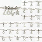 Alphabet ABC. 316L Stainless Steel Charms Beads for Women DIY Bracelets Necklace