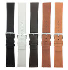 Genuine Leather Skagen Watch Strap Band,Screw, 12 to 31mm White Black Brown Tan image