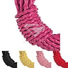 5M Making Bracelet Necklace Rubber Cord Thread Thong Wire Jewellery 3mm 5 Colors