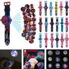 3D Cartoon Projection Watch Patrol Pokemon Paw Wristwatch Kids Children Gift