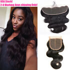 "13""×4""/4""×4"" Lace Frontal Ear to Ear Closure 7A Brazilian Body Wave Human Hair"