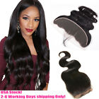 "13""×4""/4""×4"" Lace Frontal Ear to Ear Closure 7A Indian Body Wave Human Hair"
