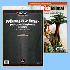 BCW: Magazine or Mag-Thick Size RESEALABLE Bags: 5 Pks (100ea) *FREE SHIP in USA