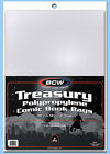 BCW: TREASURY-COMIC Size Bags:   1 Pack (100ct) *FREE SHIPPING in USA