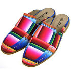 Montana West Shoes Rainbow Multi-Color Bright Summer Mule Slide Women's