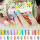 Womens Beauty Cheese Nail Gel Polish UV Led Lamp Nail Art Lacquer Manicure Tips