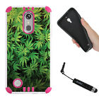 For LG K20 Plus , LV5 , K10 (2017) PINK Dual Layer Hybrid Rugged Cover Case