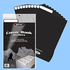 BCW: Fold-Tab Box Dividers: COMIC Size BLACK 100ct *FREE SHIPPING in USA
