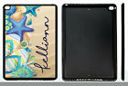 PERSONALIZED RUBBER CASE FOR iPad Air 1 2 Mini 1 2 3 4 SUMMER BEACH FLIP FLOPS