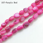 6-10mm Natural Shell Freeform Beautiful Chip Loose Beads Strand Gemstone 15.5''