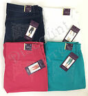 New Gloria Vanderbilt Jordyn Women's Embroidered Capri Cropped Pants Variety