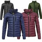 Kids Puffer Childrens Quilted Girls Bubble Padded Boys Puffa Warm Zip Jacket