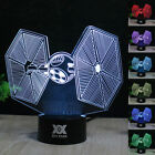 Star Wars 3D LED Night Light 7 Colour Change Touch Table Desk Lamp Creative Gift