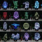 Star Wars 3D LED Night Light 7 Colour Change Touch Table Desk Lamp Creative Gift £11.99 GBP on eBay