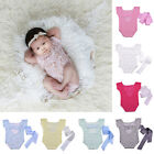 Baby Toddler Girls Lace Romper Sleeveless Bodysuit Outfit Costume Photo Prop