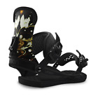 2017 NIB WOMENS UNION MILAN SNOWBOARD BINDINGS $210 Black full bottom eva