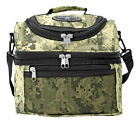 EastWest USA Insulated TACTICAL Lunch Cooler Bag Shoulder Tote w- Zip Closure
