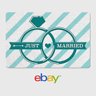 eBay Digital Gift Card Wedding Just Married - Email Delivery <br/> US Only. May take 4 hours for verification to deliver.