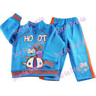 Giggle and hoot Boys winter fleece outfit jacket set size 1-5 kids clothing blue